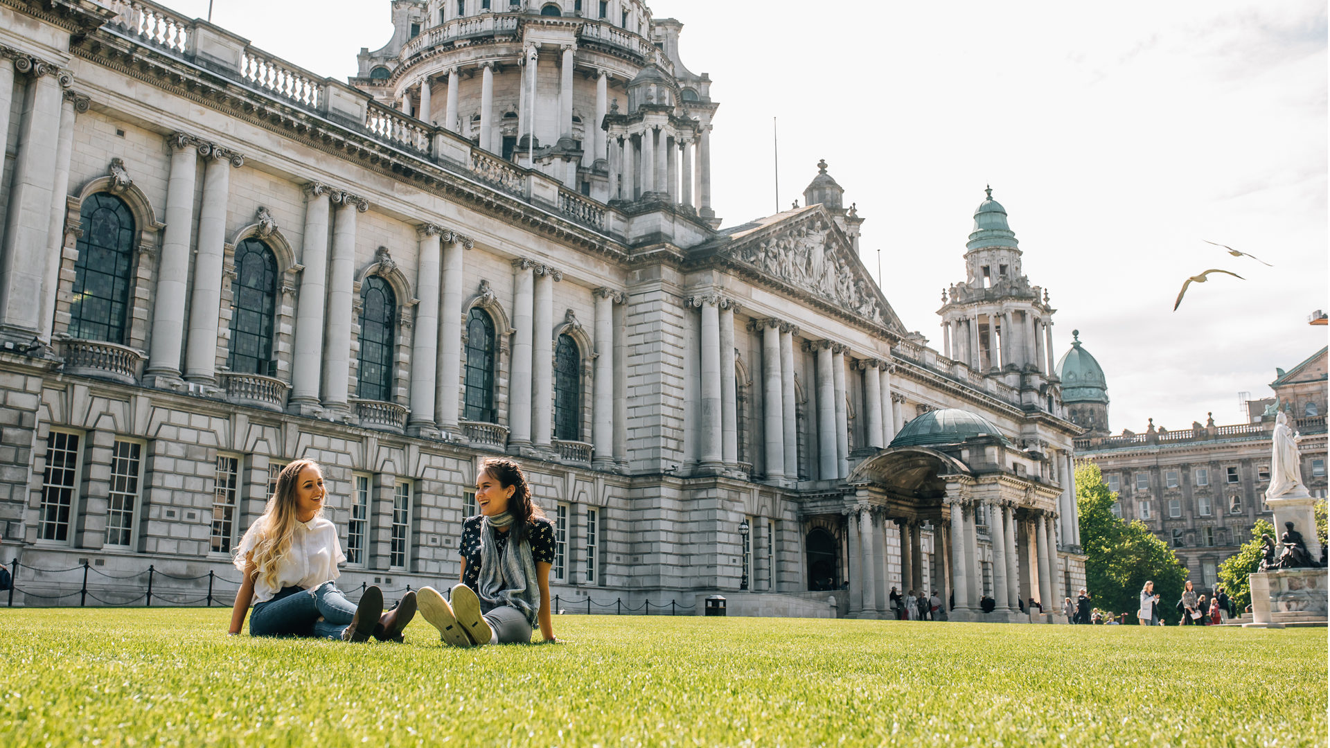 Queens University Students9 Belfast City Hall