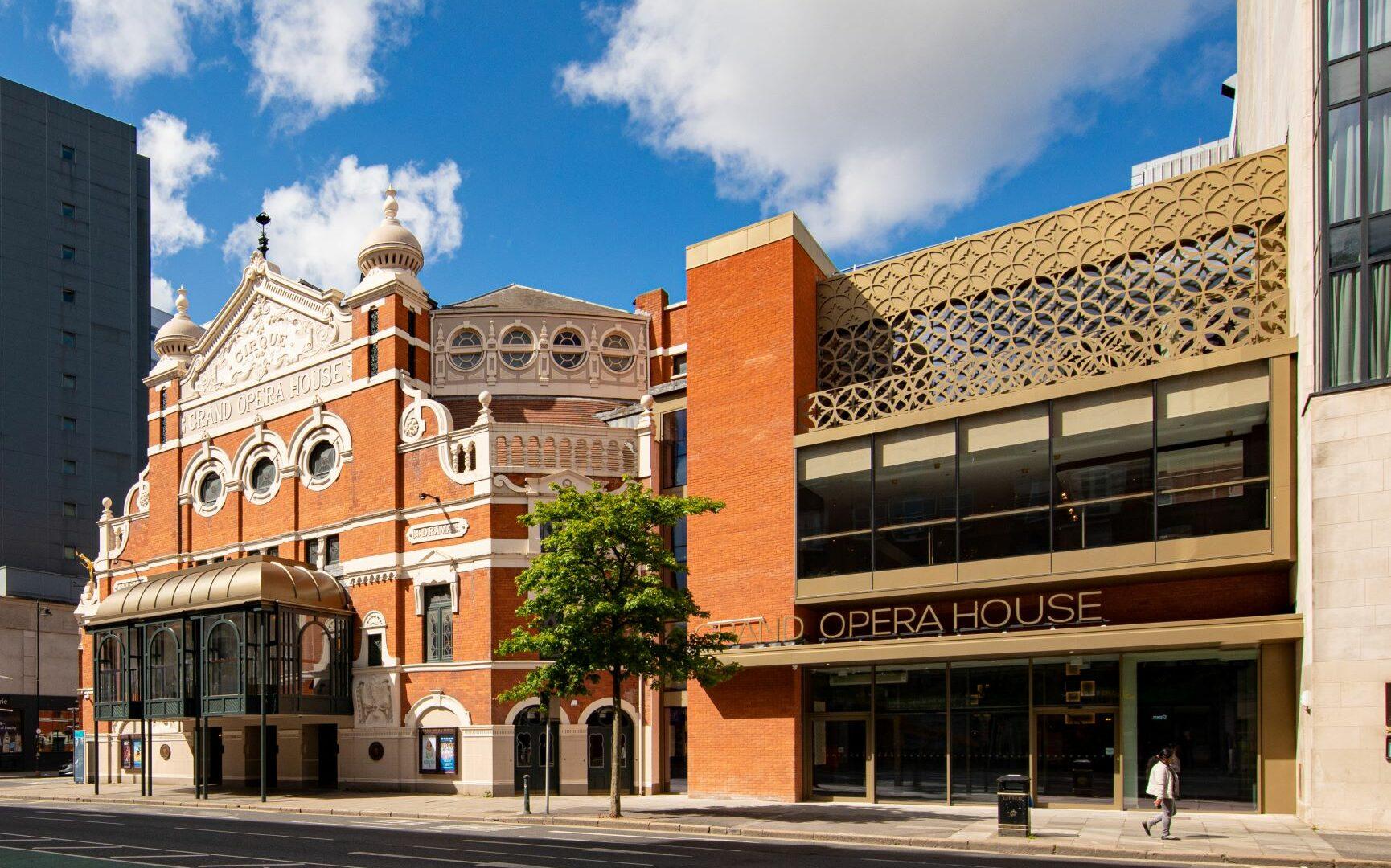 The Theatre facade