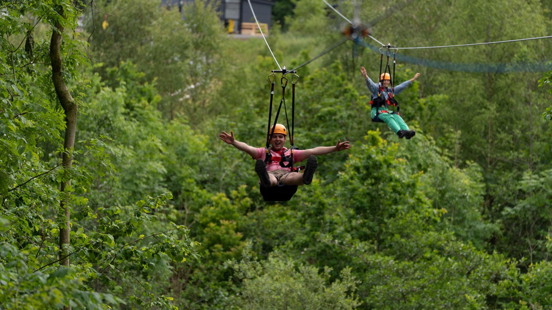 Colin Glen Forest Flyover Zipline (002)